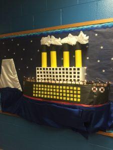 school titanic display